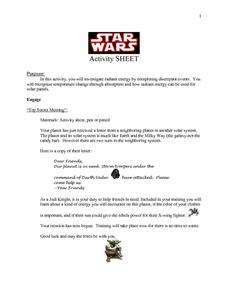 Star Wars Activity Lesson Plan