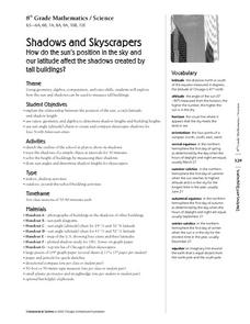 Shadows and Skyscrapers Lesson Plan