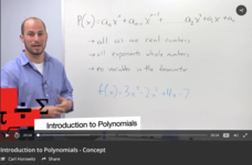 Introduction to Polynomials Video