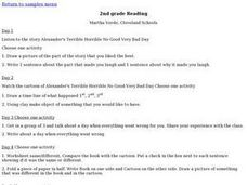 2nd grade Reading Lesson Plan