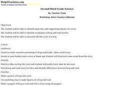 Second/Third Grade Science Lesson Plan