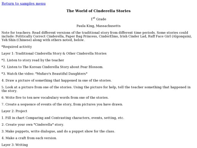 Chinese Cinderella Lesson Plans Worksheets Reviewed By Teachers