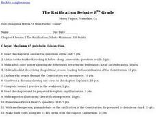 The Ratification Debate Lesson Plan