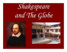 Shakespeare and The Globe Lesson Plan