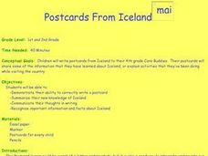 Postcards From Iceland Mailbox Lesson Plan
