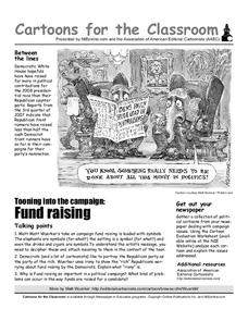 Cartoons for the Classroom: Campaign Fundraising Worksheet