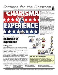 Cartoons for the Classroom: Charisma vs. Experience Worksheet