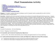 Pixel Transmission Lesson Plan