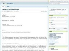 Pedigrees Lesson Plan