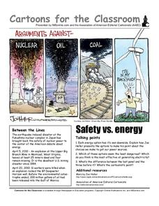 Cartoons for the Classroom: Safety vs. Energy Worksheet