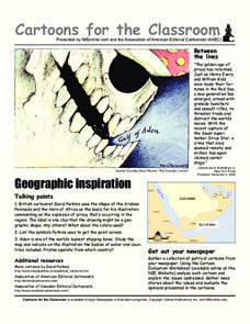 Cartoons for the Classroom: Geographic Inspiration Worksheet
