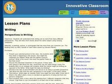 Perspectives in Writing Lesson Plan