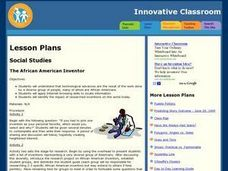 The African American Inventor Lesson Plan