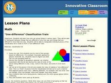 One-Difference Classification Train Lesson Plan