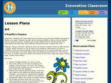 O'keefe's Flowers Lesson Plan