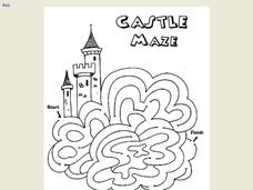 Castle Maze Worksheet