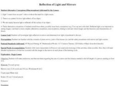 Reflection of Light and Mirrors Lesson Plan