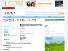 Signs of the Wind Lesson Plan