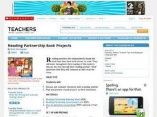 Reading Partnership Book Project Lesson Plan
