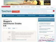 Maggie's Adventures Grades 6-8 Lesson Plan