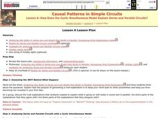 Casual Patterns in Simple Circuits Lesson Plan