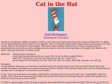 Cat in the Hat Lesson Plan