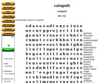 Catapult Worksheet