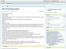 Gift of the Magi Project Lesson Plan