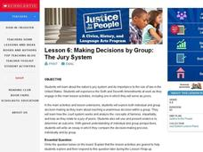 Making Decisions by Group: The Jury System Lesson Plan
