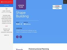 Shape Building Lesson Plan
