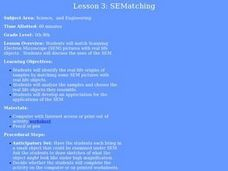 SEMatching Lesson Plan