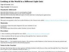 Looking at the World in a Different Light Lesson Plan