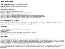 Watch the Sky Lesson Plan