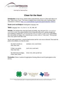 Cheer for the Heart Lesson Plan