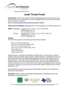 Jump! Thump! Pump! Lesson Plan