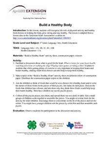 Build a Healthy Body Lesson Plan