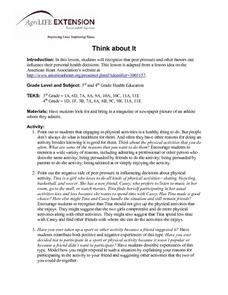 Think about It Lesson Plan