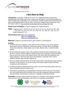 I Am Here to Help Lesson Plan