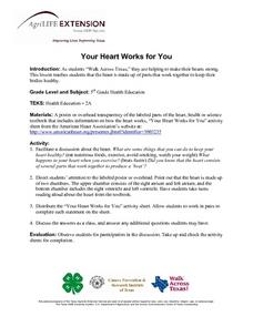Your Heart Works for You Lesson Plan