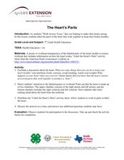 The Heart's Parts Lesson Plan