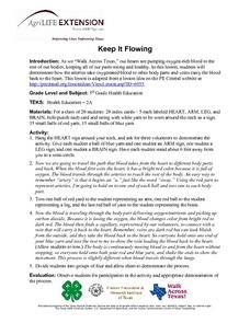 Keep It Flowing Lesson Plan