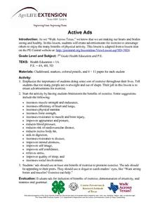 Active Ads Lesson Plan