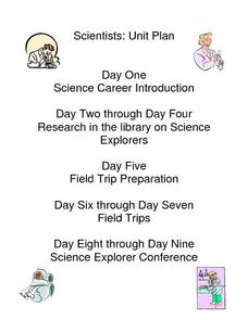 Science Careers Lesson Plan