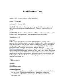 Land Use Over Time Lesson Plan