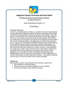 Higglytown Heroes Study Guide Lesson Plan