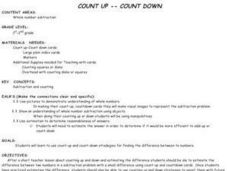 Count Up -- Count Down Lesson Plan