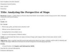 Analyzing the Perspective of Maps Lesson Plan