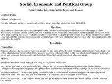 Social, Economic and Political Groups Lesson Plan
