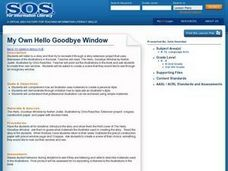 My Own Hello Goodbye Window Lesson Plan