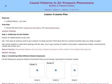 Causal Patterns in Air Pressure Phenomena Lesson Plan